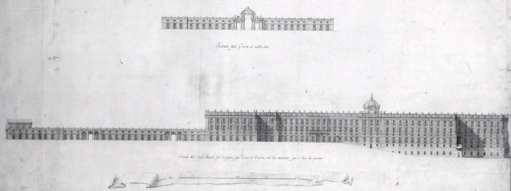Alzado del proyecto de ampliación de Sabatini.