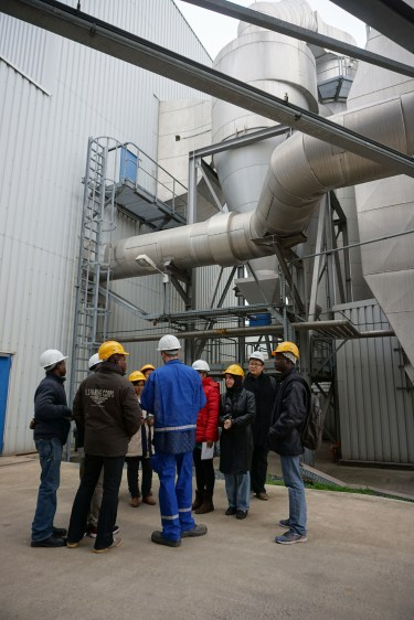 Explanation of the flue gas treatment system