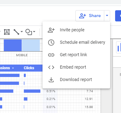 How to Use Google Data Studio to Improve Your Data - Share Your Reports