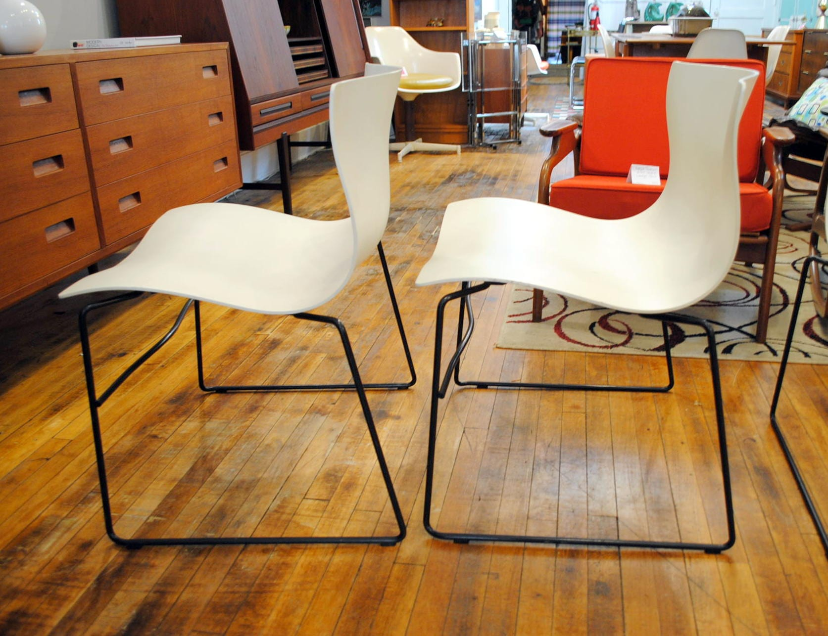 Knoll Handkerchief Chairs By Vignelli Set Of 4