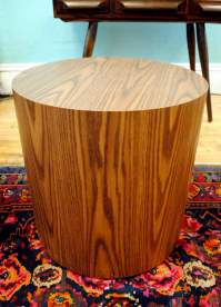 Mid Century Drum side Table | Circa