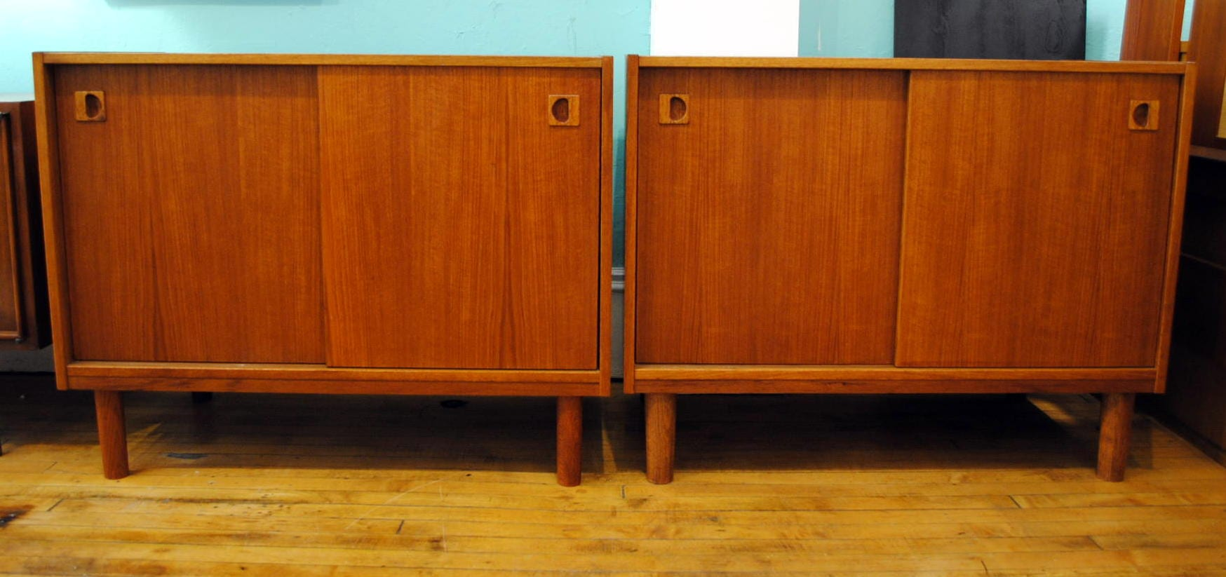 Danish Teak Cabinets 2 Available