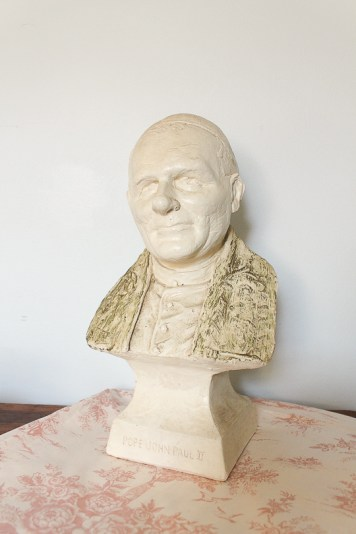 Pope bust