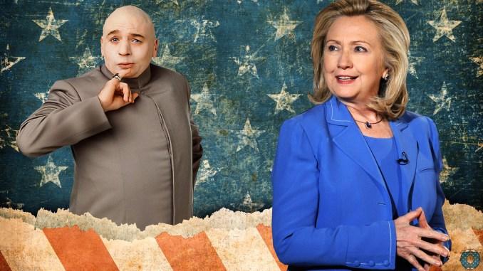 Hillary Clinton Dr Evil Religious