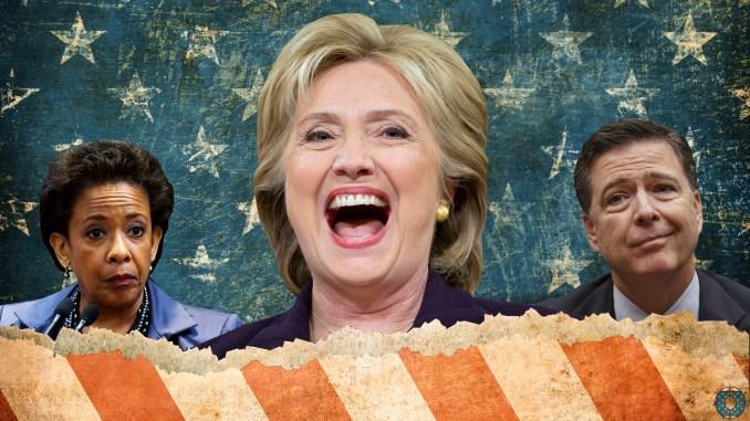 Hillary Clinton Loretta Lynch James Comey