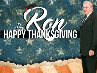 Dr. Ron Reflects Happy thanksgiving thankful