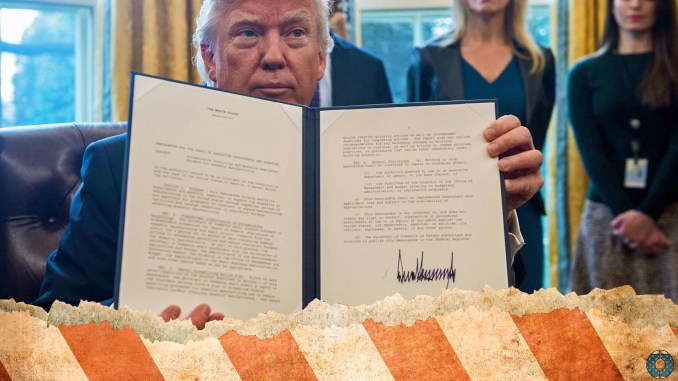 Donald Trump executive order oil keystone pipeline