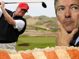Rand Paul Donald Trump Obamacare Healthcare golf
