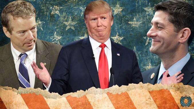 Rand Paul Donald Trump Paul Ryan Obamacare