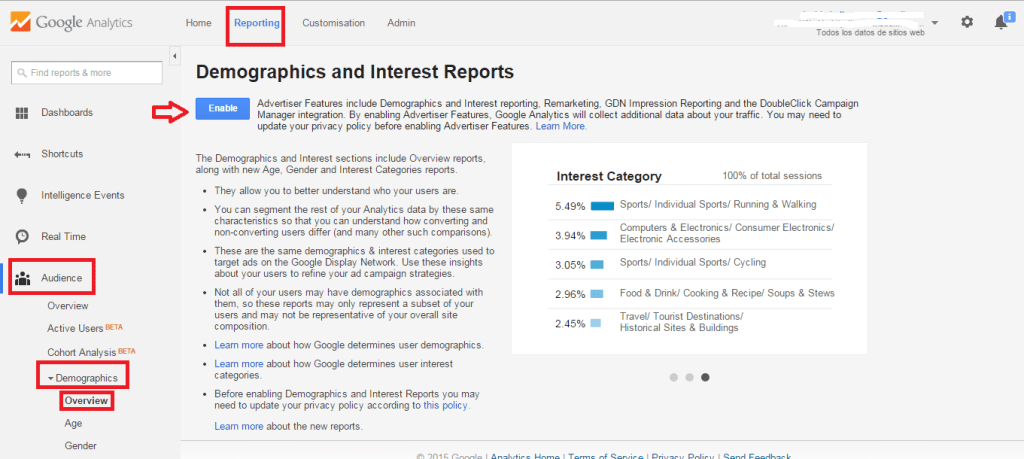 web analytics - Google
