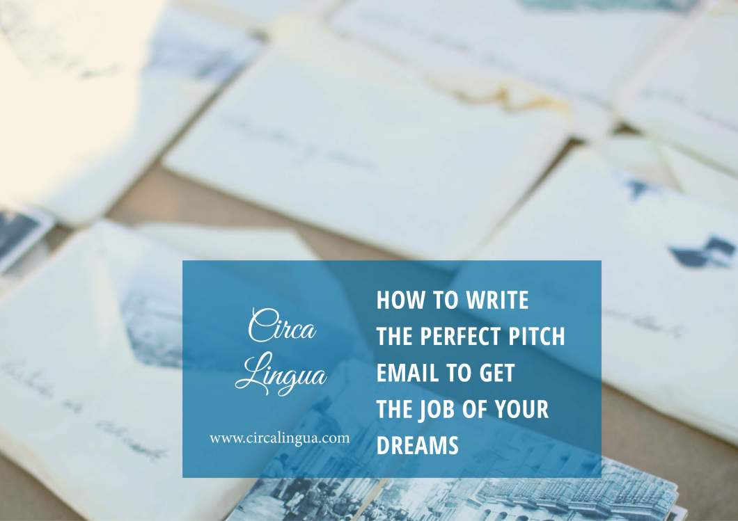 How to write the perfect pitch email to get the job of your dreams