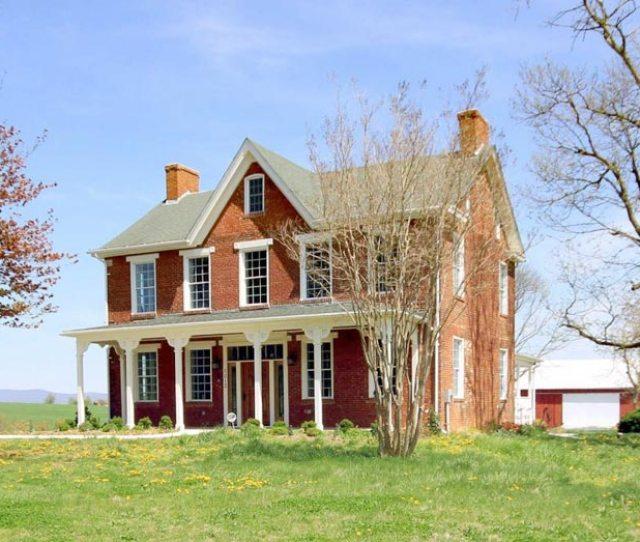 Maryland Historic Brick Farmhouse