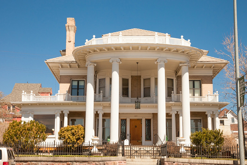 1906 Mansion In Butte Montana