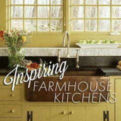 Farmhouse Style Kitchen Islands Corner Sinks 5 Inspiring Kitchens | Circa Old Houses ...