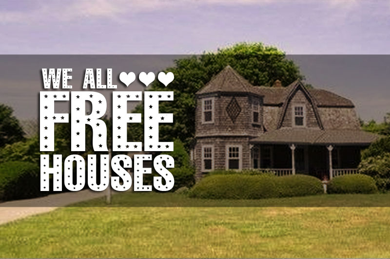 Free Houses! These 6 Gorgeous Old Houses Are Free For The