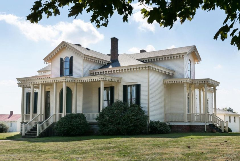 1850 Gothic Revival For Sale In Pleasureville Kentucky
