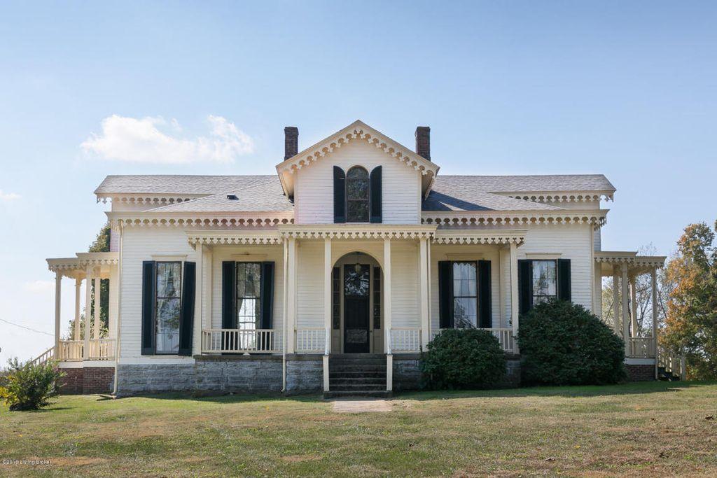 1850 Gothic Revival In Pleasureville Kentucky
