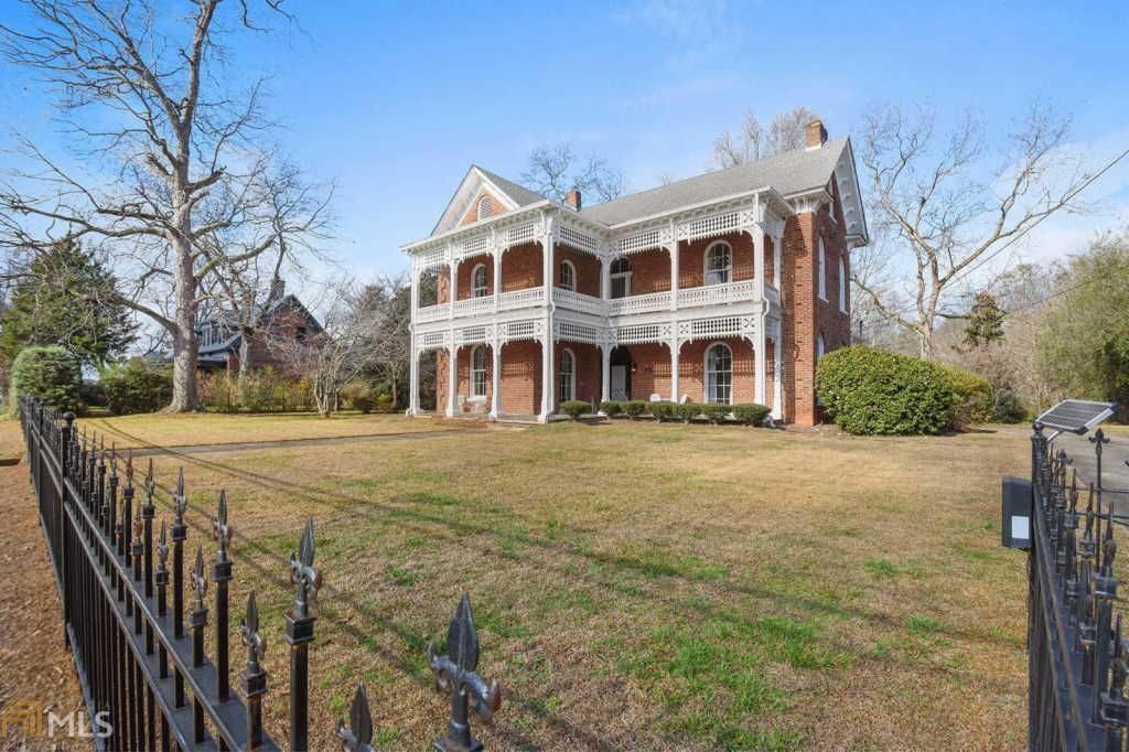 Georgia 1870 Post Civil War Italianate