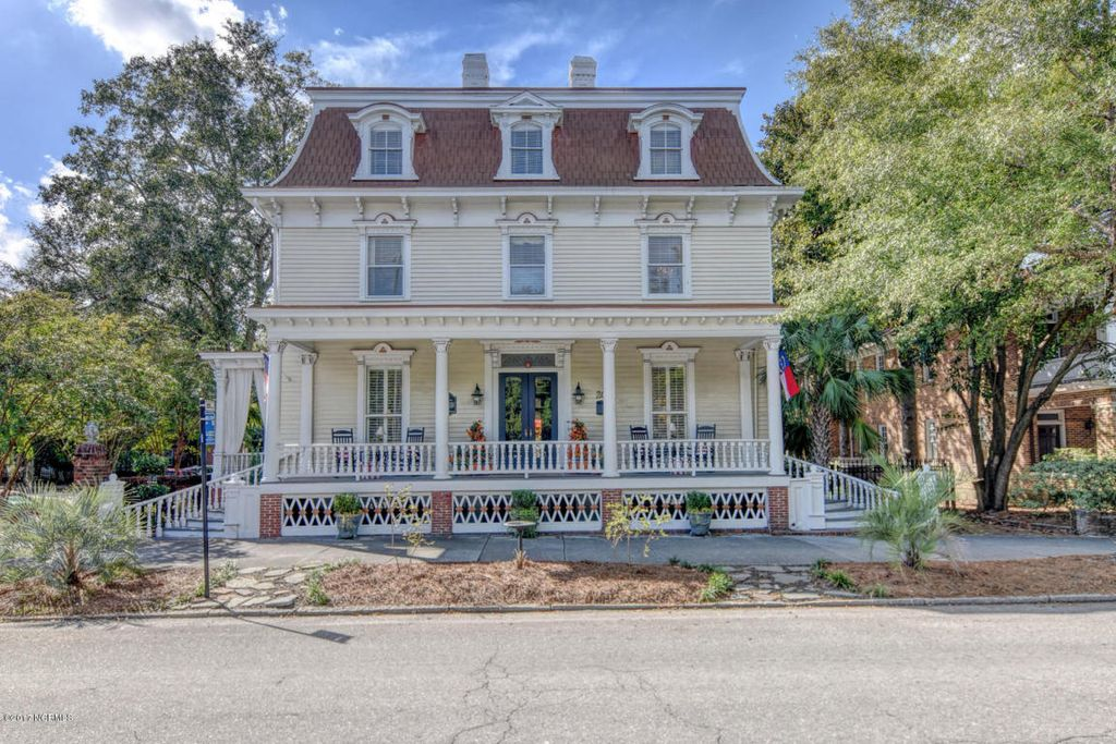 1853 Miles Costin House In Wilmington North Carolina