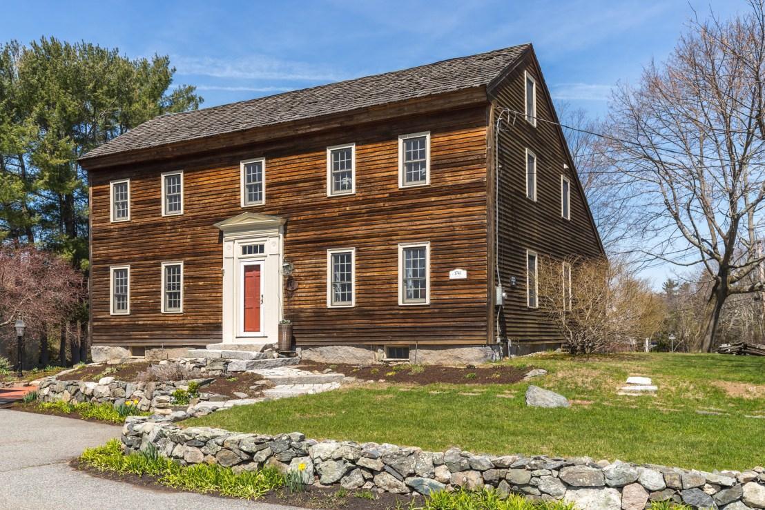 1742 Daniel Nichols Homestead For Sale In Reading Massachusetts