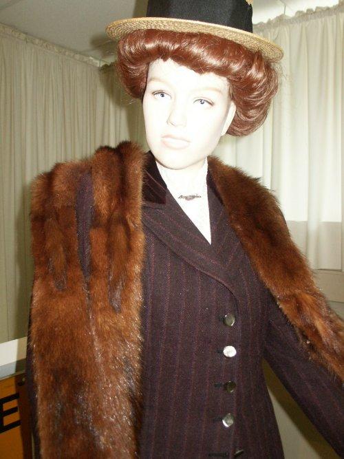Edwardian fur