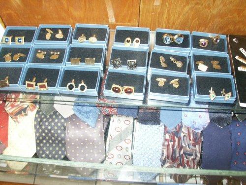 Cufflinks and ties