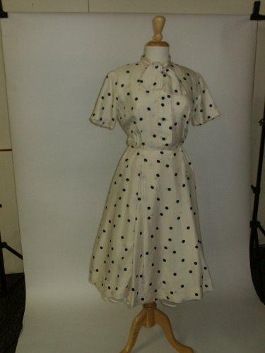 50s spotty dress