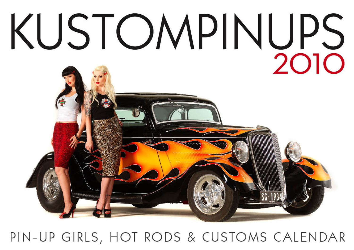Pin Up Calendar Vintage : New kustom pin ups calendar now available circa vintage