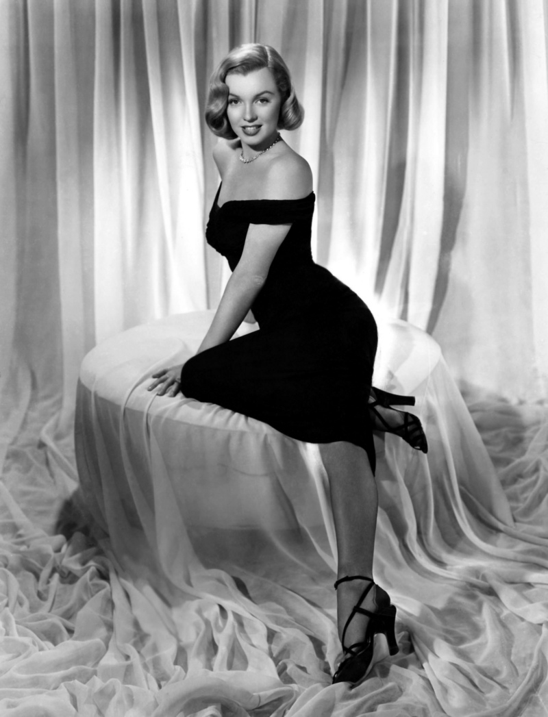 Ten Iconic Marilyn Monroe Dresses   Circa Vintage Clothing