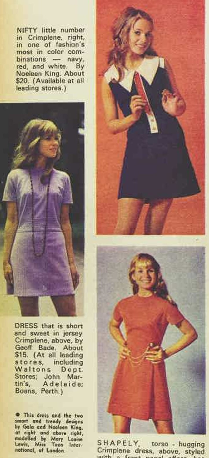 Aus Womens Weekly 1969