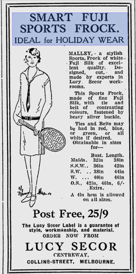 Sydney Mail 1927