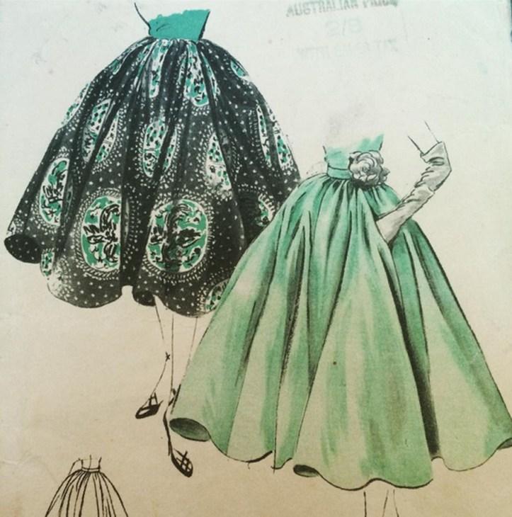 Vogue pattern 2