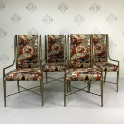 Bamboo Dining Chair Wedding Covers Midlands Set 4 Mastercraft Faux Chairs Circa Who Prev