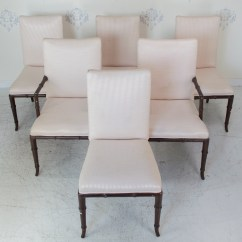 Bamboo Chairs Wholesale Chair Covers For Sale Set Of 6 Faux Circa Who Prev