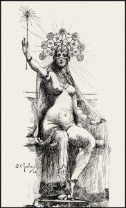 Circé la Magicienne, illustrée par Louis Chalon