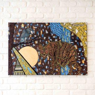 peinture de l'artiste zaar