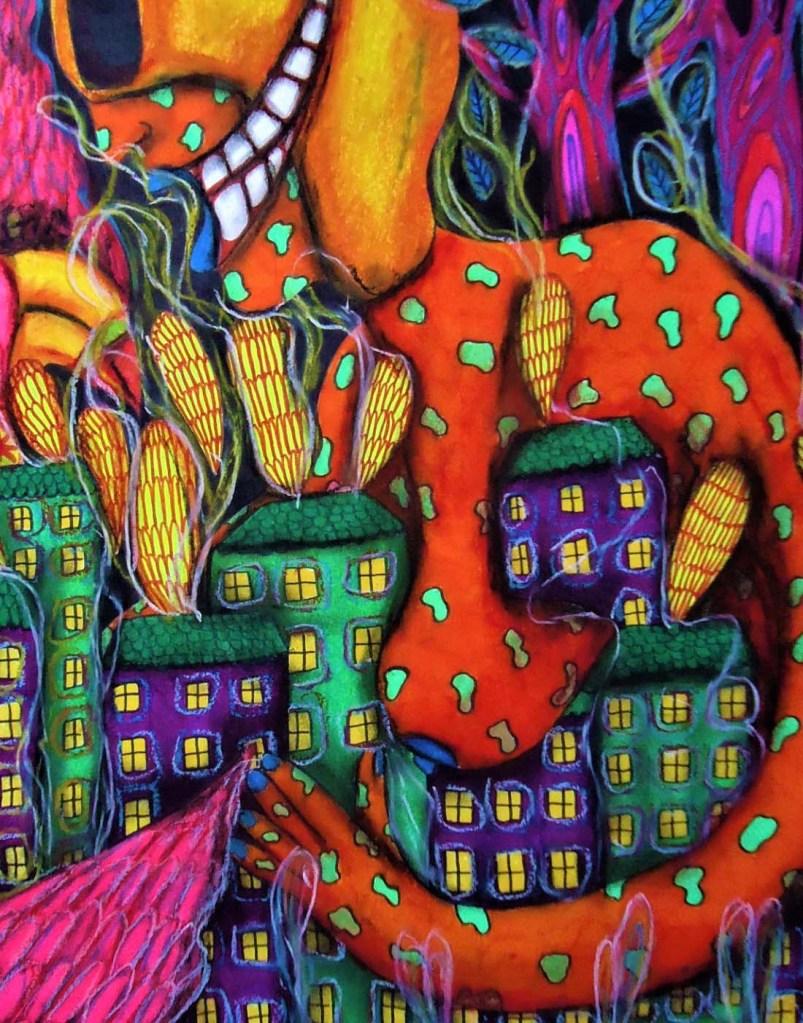 ocho artiste peintre illustratrice