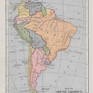 #1039 South America, 1886