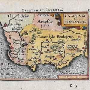 #1086 Calais (including Boulogne), France 1598