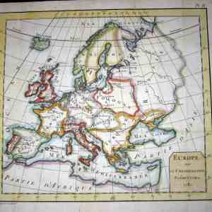 #1416 Europe, 1781