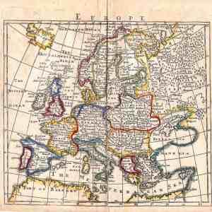 #203 Europe, ca.1750