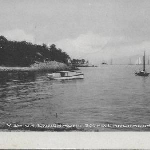 #2662 View on Larchmont Sound, 1907