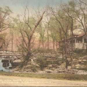 Waterfall, Larchmont Gardens 1915