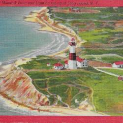 Martha's Vineyard, Cape Cod, Nantucket, Block Island + Montauk Postcards