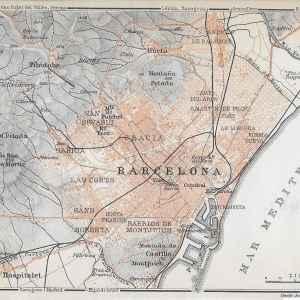 #3391 Barcelona Region, Spain 1914