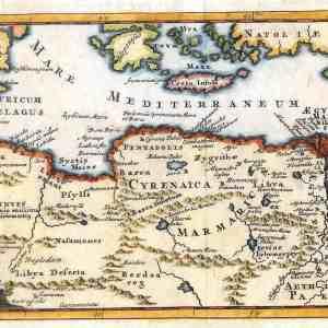 #346 North Africa/Egypt, 1711