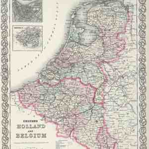 #3961 Holland & Belgium, 1874