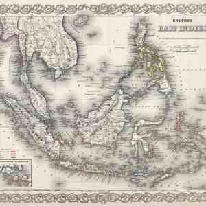 #3986 East Indies, 1874