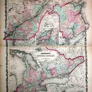 #952 Canada, 1861
