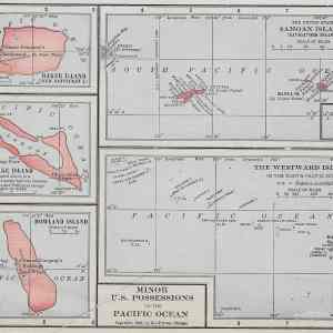 #1237 Minor US Possessions in the Pacific, 1902
